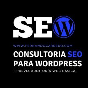 consultoría web para wordpress